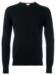 классический трикотажный свитер Moncler