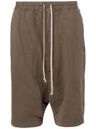 спортивные шорты с заниженной проймой Rick Owens DRKSHDW