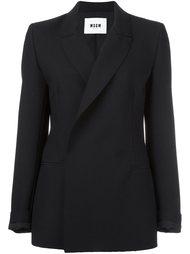 пиджак с потайной застежкой MSGM