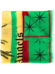 шарф 'Rastafari Skull' Palm Angels
