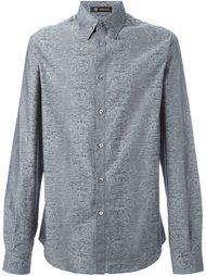 рубашка с узором 'Joy Division' Versace