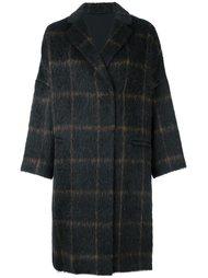 пальто в клетку Brunello Cucinelli