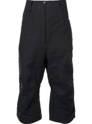 укороченные брюки с заниженным шаговым швом A Diciannoveventitre