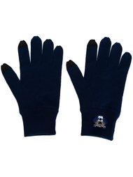 вязаные перчатки 'Mini Tiger' Kenzo