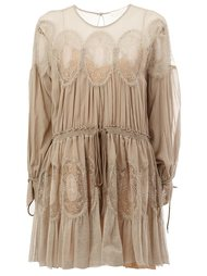 платье с панельным дизайном Chloé
