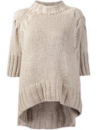 свитер с рукавами три четверти  Spencer Vladimir