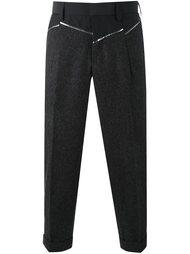 укороченные брюки с панельным дизайном  Kolor