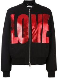 куртка бомбер с принтом 'Love' Givenchy
