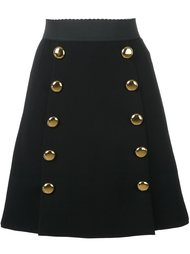 двубортная юбка Dolce & Gabbana