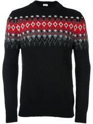 декорированный свитер  Saint Laurent