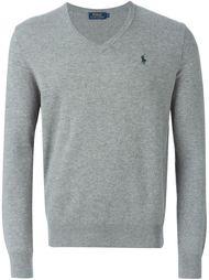 свитер c V-образным вырезом   Polo Ralph Lauren