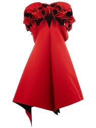 платье с асимметричным подолом Junya Watanabe Comme Des Garçons