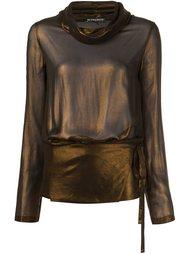 блузка с карманами Ann Demeulemeester
