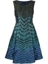 платье с градиентным эффектом  Alberta Ferretti