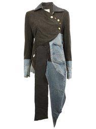 куртка с панельным дизайном Greg Lauren