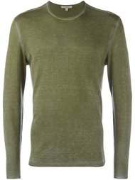 свитер с круглым вырезом   John Varvatos