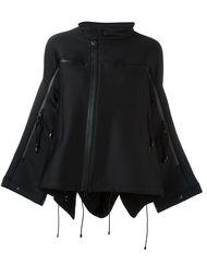 расклешенная куртка свободного кроя на молнии Y-3
