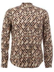 рубашка с узором  Dnl