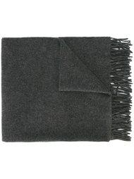 шарф с бахромой Ami Alexandre Mattiussi
