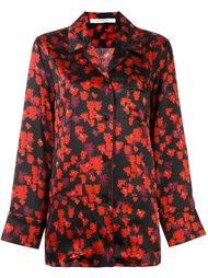 рубашка с цветочным узором Givenchy