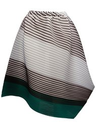 pleated asymmetric skirt Pleats Please By Issey Miyake