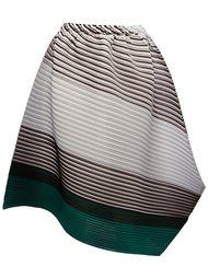 pleated asymmetric skirt Pleats Please By Issey Miyake