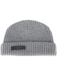 шапка ребристой вязки Jil Sander