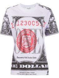 футболка с принтом доллара Opening Ceremony