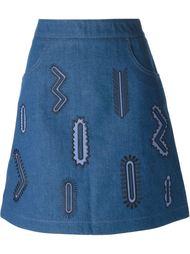 джинсовая юбка 'Zigarette' d Stella McCartney