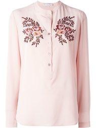креповая рубашка 'Eva' с вышивкой Stella McCartney