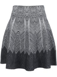 юбка с тонально-градиентным эффектом  Opening Ceremony