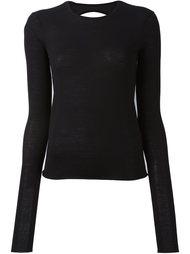 свитер с вырезом на спине Ports 1961
