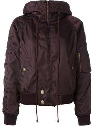 дутая куртка с капюшоном Chloé