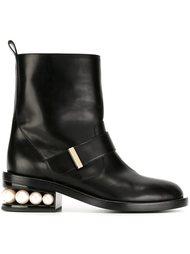 байкерские ботинки 'Casati Pearl' Nicholas Kirkwood