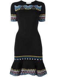 трикотажное платье с орнаментом Peter Pilotto