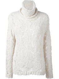 свитер открытой вязки Woolrich