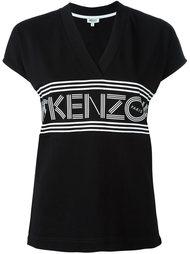 футболка c V-образным вырезом  Kenzo
