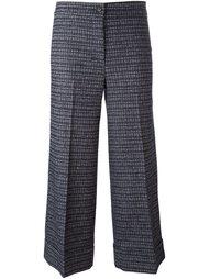 укороченные жаккардовые брюки  L'Autre Chose