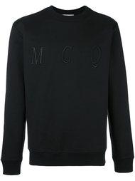 толстовка с вышитым логотипом McQ Alexander McQueen