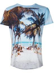 футболка с принтом пляжа Orlebar Brown