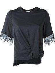 футболка с узлом спереди 3.1 Phillip Lim