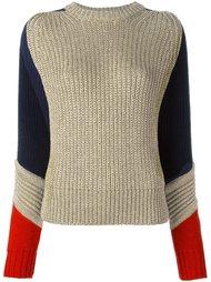 свитер колор-бок  Tommy Hilfiger