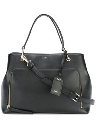 сумка-тоут с карманом на молнии DKNY