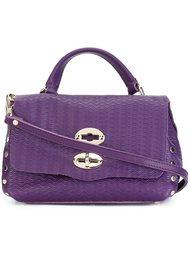 текстурированная сумка через плечо Zanellato