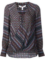 блузка c V-образным вырезом  Derek Lam 10 Crosby