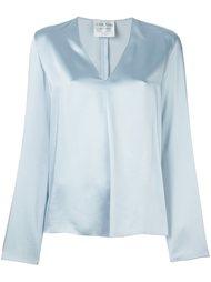 блузка c V-образным вырезом   Forte Forte