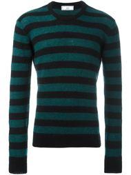 свитер в полоску с круглым вырезом Ami Alexandre Mattiussi