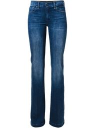 расклешенные джинсы кроя скинни   7 For All Mankind