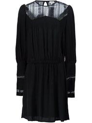 платье с прозрачной панелью Talitha