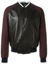 куртка-бомбер с контрастными полосками   Lanvin